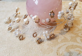 'Bridal'  Vienna Hair Vine Workshop with SWAROVSKI® Crystals and pearls, Sat 19th May 10.30 - 1pm